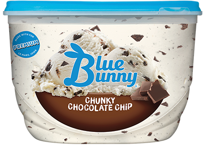 Chunky Chocolate Chip Front View Package