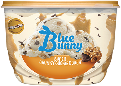 Super Chunky Cookie Dough® Front View Package