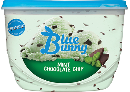 Mint Chocolate Chip Front View Package