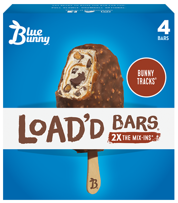 Load'd Bars® Bunny Tracks® Front View Package