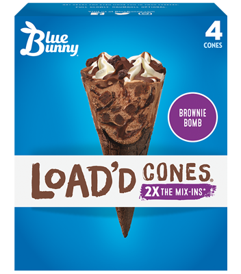 Load'd Cones® Brownie Bomb Front View Package