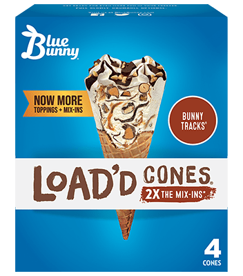 Load'd Cones® Bunny Tracks® Front View Package