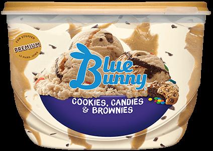 Cookies, Candies, Brownies Front View Package