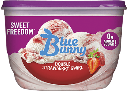 Sweet Freedom® Double Strawberry Swirl Front View Package