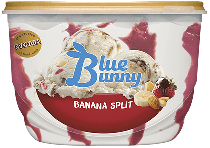 Banana Split Front View Package