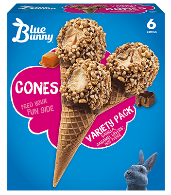 Variety Pack Cones Front View Package