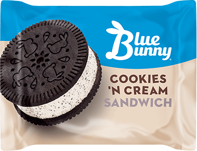 Cookies 'N Cream Sandwich Front View Package
