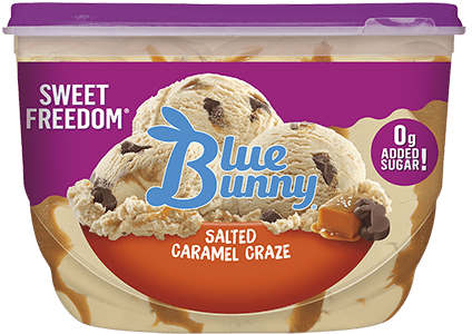 Sweet Freedom® Salted Caramel Craze Front View Package