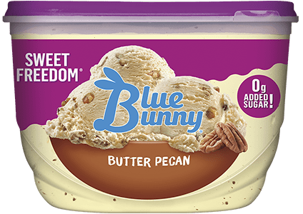 Sweet Freedom® Butter Pecan Front View Package
