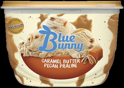 Caramel Butter Pecan Praline Front View Package