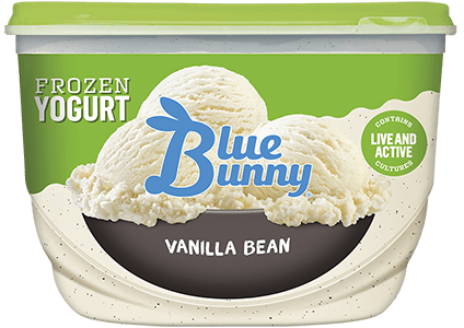 Vanilla Bean Frozen Yogurt Front View Package