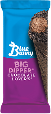 Big Dipper® Chocolate Lovers® Cone Front View Package