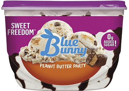 Sweet Freedom® Peanut Butter Party Front View Package