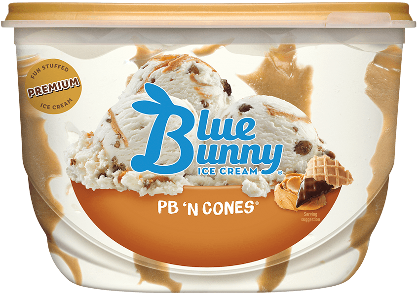 PB 'N Cones® Front View Package