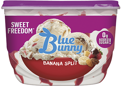 Sweet Freedom® Banana Split Front View Package