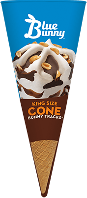 King Size Bunny Tracks® Cone Front View Package