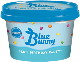 Blu's Birthday Party® Front View Package