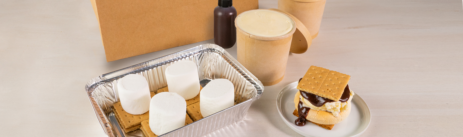 S'mores Ice Cream Sandwich Kit
