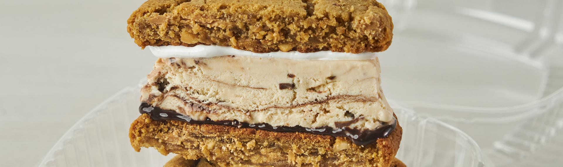 Fudger Fluffer Nutter Sandwich