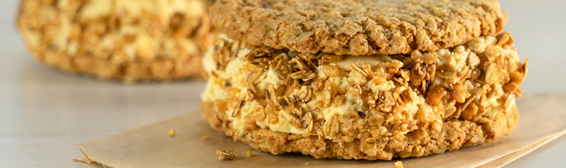 Oatmeal (Ice) Cream Pie